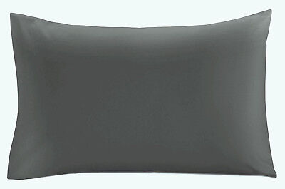 Bulk Buy Wholesale Pillow cases Pillowcases Pairs PLAIN GREY 10 Pairs (20 pcs)