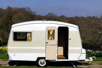 Immaculate vintage caravan 1976 Sprite Alpine