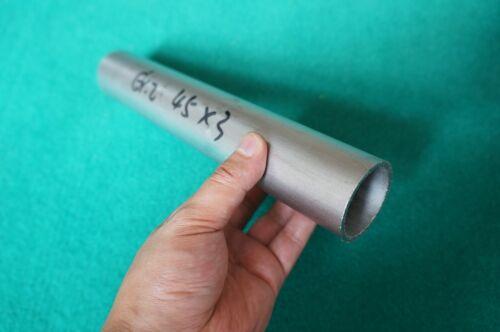 """Titanium Grade 2 Tube ( 1.77"""" x .118"""" x 10"""" ) Seamless Ti Metal Round Tubing"""