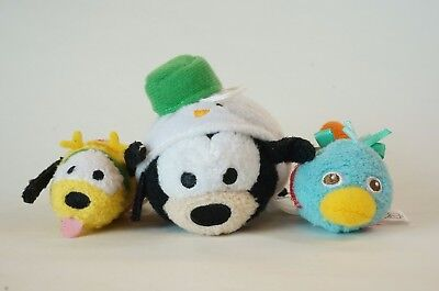 Disney Store JAPAN TSUM TSUM 2017 Christmas Advent Calendar Goofy Pluto Perry