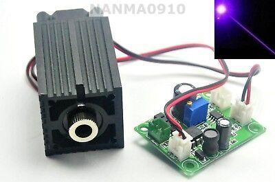 High Power 405nm Violet Blue Laser Module 200mw Diode Dot 12v Stage Lights