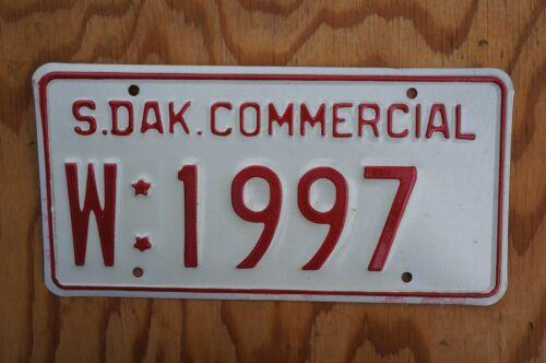 South Dakota License Plate # W : 1997 With Stars