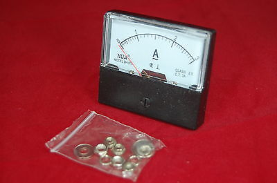 Ac 3a Analog Ammeter Panel Amp Current Meter Ac 0-3a 6070mm Directly Connect