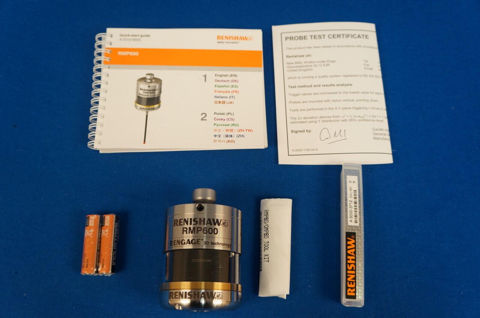 Details about Renishaw RENGAGE HAAS Mazak RMP600 Machine Tool Probe New  With 1 Year Warranty