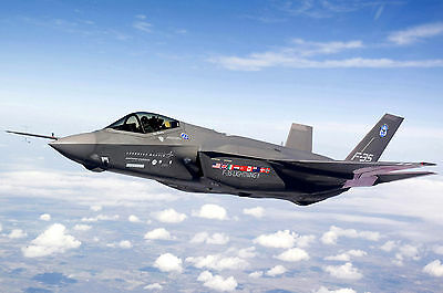 8x12 Photo F-35 Joint Strike Fighter Lightning II test aircraft AA-1