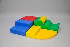 Soft Play Set of 6 Shapes | Quality Soft Play Equipment, Soft Play Shape Sets |