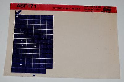 DEC ASF171 Automatic Sheet Feeder, Microfiche
