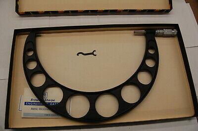 Brown Sharpe 250-275mm X .01mm Straight-line Metric Outside Micrometer