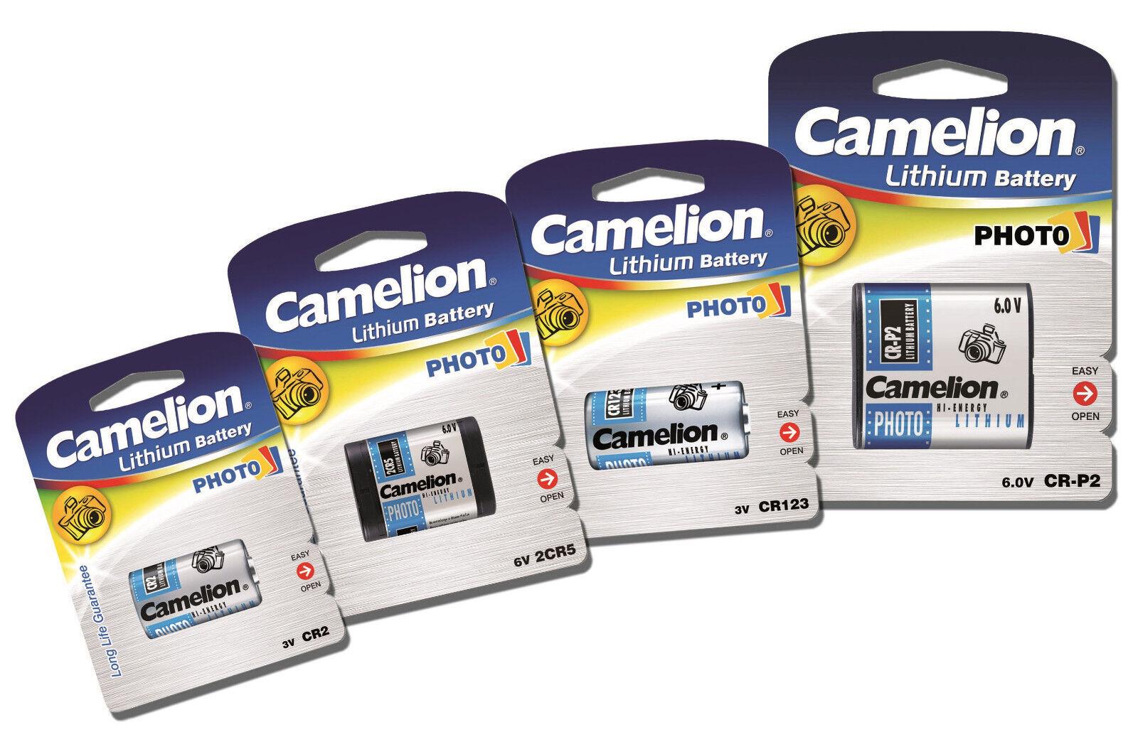 Photo Spezial Batterie Foto CR 123A CR 2 Camelion 2 CR 5 CR - P2 Kamera