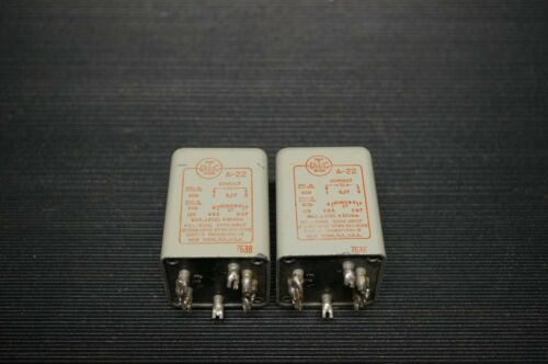 VINTAGE EARLY UTC A-22 AUDIO OUTPU INTERSTAGE TRANSFORMERS/ MATCHED CODE 7636