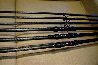 Carp fishing rods Wolf X Distance Extreme 12ft 50mm ALPS reel seat carp tackle