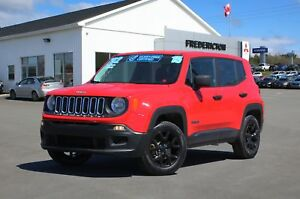 2015 Jeep Renegade Sport 4X4 | REDUCED | ALLOYS | LOADED