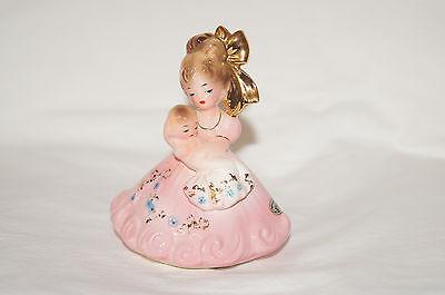 "Vintage Josef Originals 'Party Cake Toppers' Series 'Christening' 3.75"" Figurine"