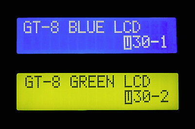 Backlit LCD Display part for Boss GT-3 GT-6 GT-8 Pedal Replacement Blue or Green Blue Backlit Lcd Display