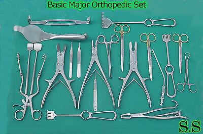 Basic Major Orthopedic Set Surgical Instruments