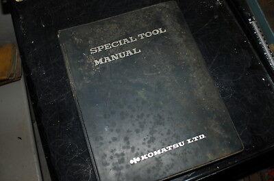 Komatsu Tractor Dozer Crawler Special Tool Manual Book Catalog Engine Diagnostic