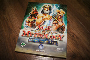 Age of mythology empires I & II pc old game cd disc 2x cd-rom 2007 - <span itemprop='availableAtOrFrom'>wielkopolska, Polska</span> - Age of mythology empires I & II pc old game cd disc 2x cd-rom 2007 - wielkopolska, Polska