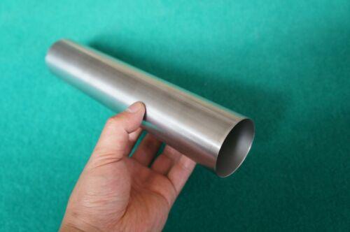 "Titanium Grade 9 Tube ( 2"" x .035"" x 10"" ) Seamless 3al-2.5v Round Tubing"
