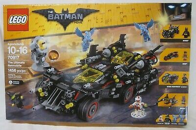 *NEW IN SEALED BOX* LEGO 70917 THE BATMAN MOVIE Ultimate Batmobile *RETIRED*