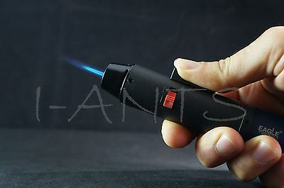 (Original) Eagle Jet Pen Torch Gun Adjustable Windproof Flame Refillable Lighter