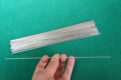 "1.5mm Titanium 6al-4v Wire .06"" x 10"" Straight Welding bar Grade 5 rod 25pcs"