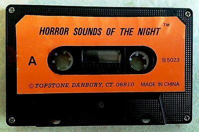 Topstone's HORROR SOUNDS OF THE NIGHT: RARE VINTAGE 1970s-80s HALLOWEEN - Halloween Sounds Of The Night
