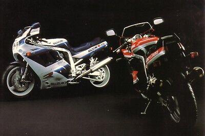 Suzuki GSX-R1100 1990 Motorbike Jumbo Fridge Magnet