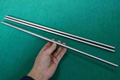 10mm Dia Titanium 6al-4v Round Bar .393 X 20 Ti Grade 5 Metal Alloy Rod 3pcs