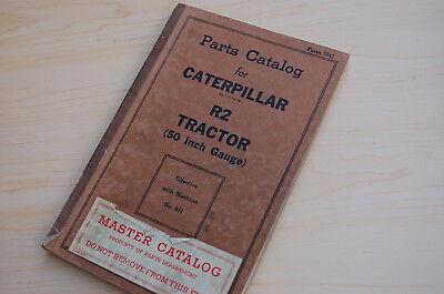 Caterpillar R2 Tractor Crawler Dozer Parts Manual Book Catalog Vintage 6j 50 In