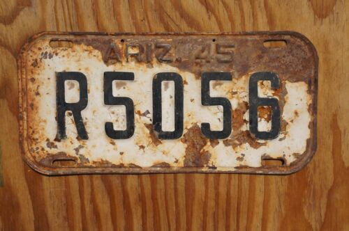1945 Arizona License Plate # R 5056