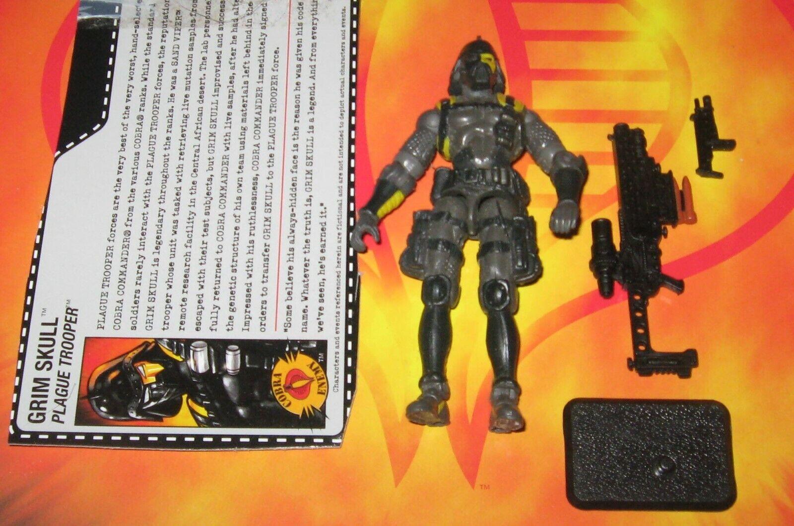 - Complete Loose Action Figure 2002 HASBRO GI JOE G.I JOE Zartan v4