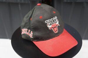 Rare Vintage TWINS Chicago Bulls NBA Basketball Snapback Hat Cap 90s Jordan Rose