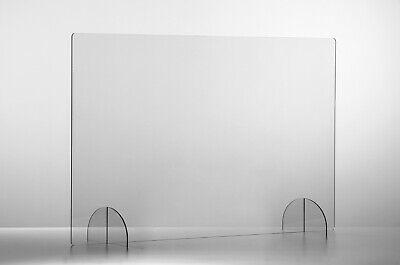 Spuckschutz Trennwand für Schreibtisch Theke Praxis Sofortlieferung Top-Qualität