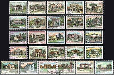 ITALIA 1980/86 - TEMATICA VILLE D ' ITALIA COMPLETA NUOVA ** 26...