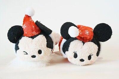 Disney Store JAPAN TSUM TSUM 2017 Christmas Advent Calendar Mickey & Minnie