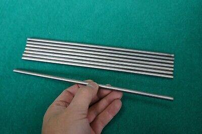 6mm Dia Titanium 6al-4v Round Bar .236 X 10 Ti Grade 5 Rod Solid Metal 8pcs