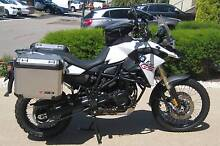 BMW F800 GS WHITE 2014 Patterson Lakes Kingston Area Preview
