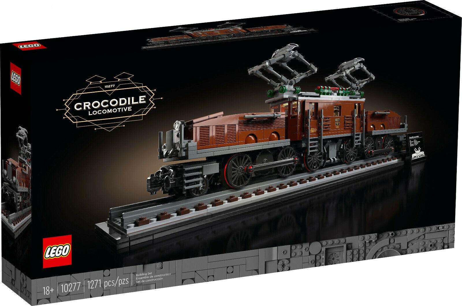 Lego® CREATOR EXPERT 10277 Lokomotive CROCODILE Krokodil *NEU & OVP*
