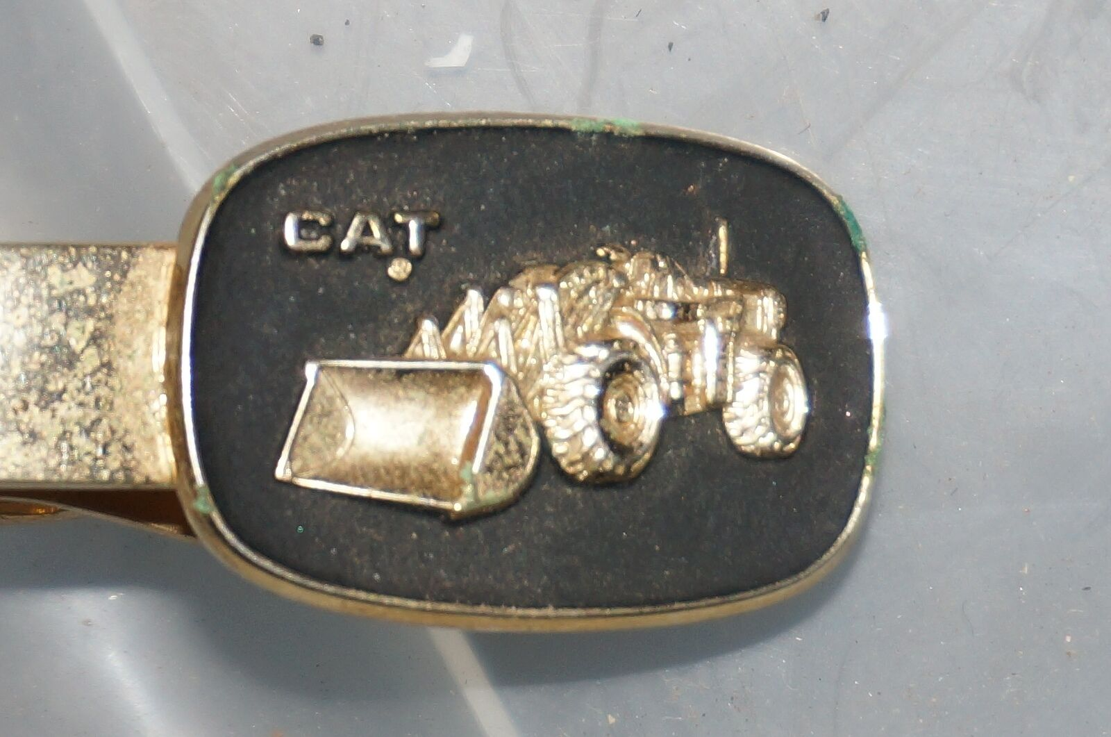 Caterpillar Cat Tie Clip Looks like a 966B