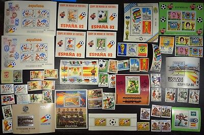 1982 Soccer, Football World Cup, collection, MNH (302)