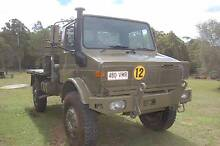 HISTORIC 1st Unimog U1700L in service with Australian Army Crows Nest Toowoomba Surrounds Preview
