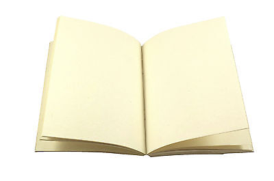 4x5 Journal Refill Handmade Paper Blank Pocket Notebok Cotton Unlined Recycled