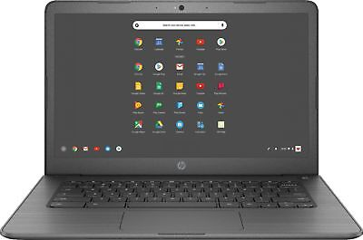 "HP - 14"" Come-Screen Chromebook - Intel Celeron - 4GB Reminiscence - 32GB eMMC Fla..."