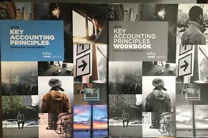 Key accounting principles, volume One, Fourth Edition - Workbook