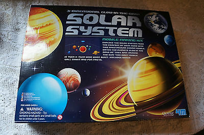 3 D Glow In The Dark Solar System Mobile Making Kit