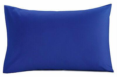 Bulk Buy Wholesale Pillow cases Pillowcases Pairs NAVY BLUE 10 Pairs (20 pcs)
