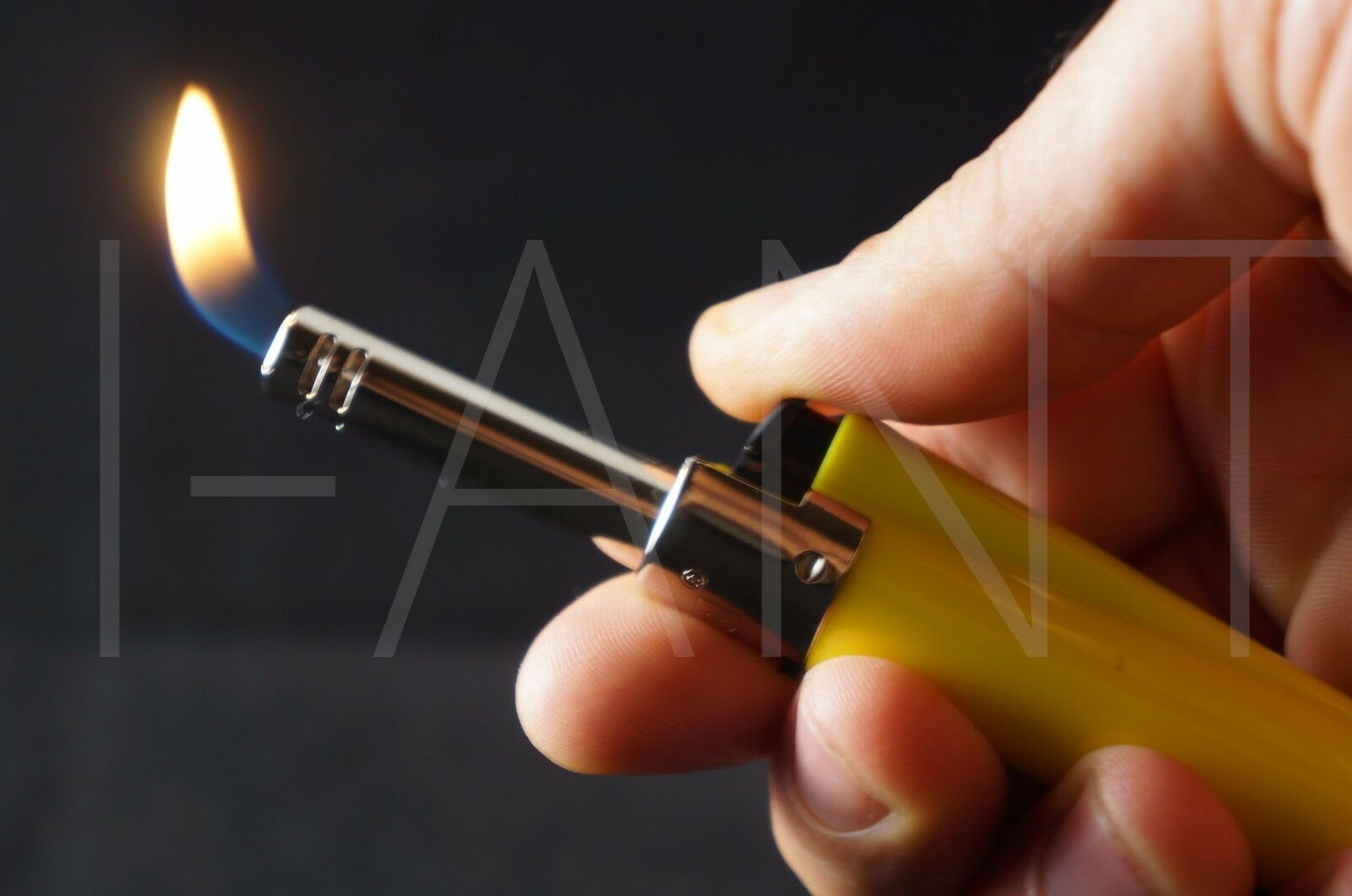 CLIPPER MINI TUBE PIEZO IGNITION REFILLABLE ADJUSTABLE FLAME UTILITY LIGHTER
