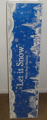 Let it Snow Village Snow Machine - Department 56 - No. 52592 - christmas fake for sale  Shipping to Nigeria