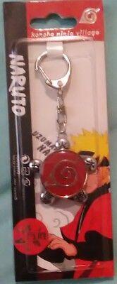 Naruto Limited Collector keychain konoha ninja village anime Jewelry Wansheng.