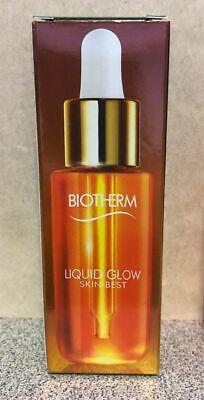 BIOTHERM SKIN-BEST LIQUID GLOW INSTANT REVIVING OIL ANTIOXYDANT FACE 1 oz 30 ml